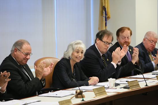The NJTPA Board votes to appoint Mary Ameen executive director