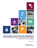 Cover of the Alternative Fuel Vehicle Readiness guidebook
