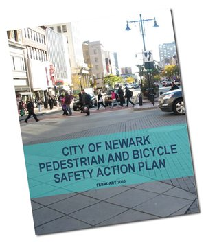 newark ped and bike safety plan report