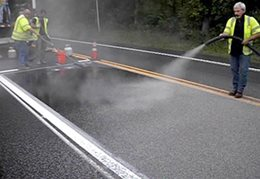 High Friction Surface Treatment and Chevron signs along curves are both Proven Safety Countermeasure that have each been shown to reduce fatal and serious injury crashes by as much as 24%25 and up to 52%25 reduction for wet road crashes.