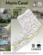 Cover of the Warren County Morris Canal Plan